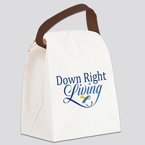 Down Right Living 2 Canvas Lunch Bag