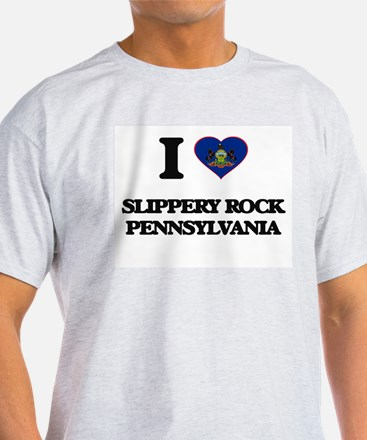 I love Slippery Rock Pennsylvania T-Shirt