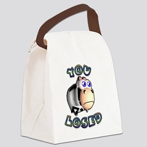 You Losed Canvas Lunch Bag