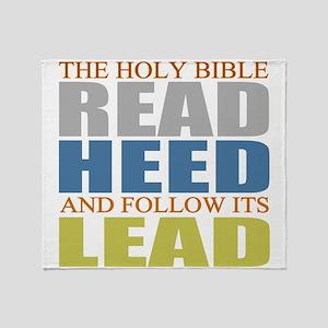 The Bible Throw Blanket