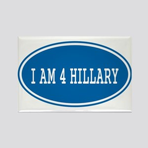 I am for Hillary: Magnets