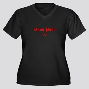 Rand Paul 16-Old red 9 Plus Size T-Shirt