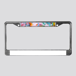 birthday cake License Plate Frame