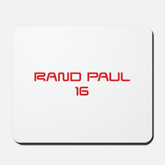 Rand Paul 16-Sav red 9 Mousepad