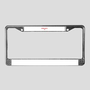 Rand Paul 16-Var red 9 License Plate Frame