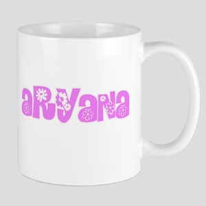 Aryana Flower Design Mugs