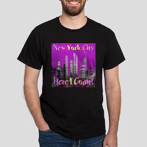 New York City Here I Come! Dark T-Shirt