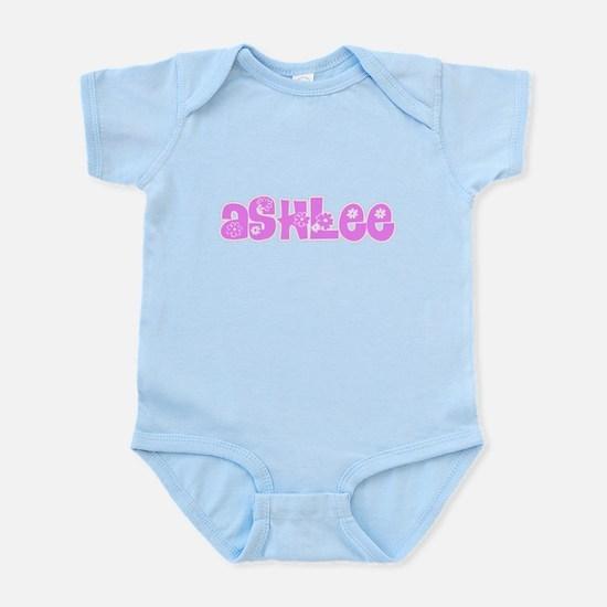 Ashlee Flower Design Body Suit