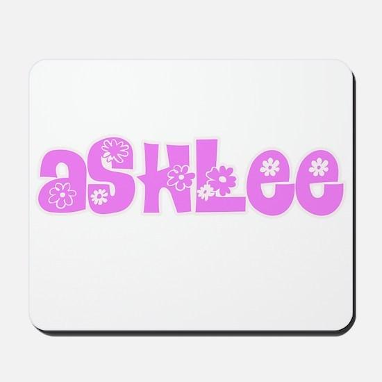 Ashlee Flower Design Mousepad