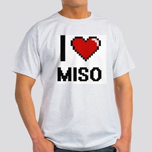 I Love Miso digital retro design T-Shirt