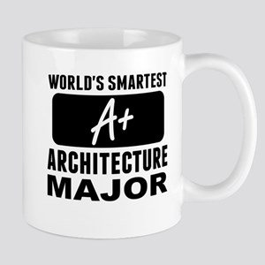 Worlds Smartest Architecture Major Mugs