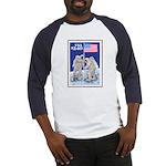 Apollo 11 Flag Baseball Jersey Space gift