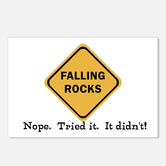 Falling Doesn't Rock, I T Postcards (Package of 8)