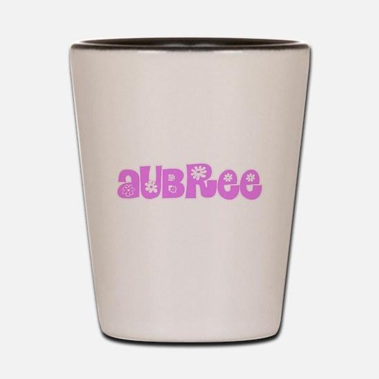 Aubree Flower Design Shot Glass