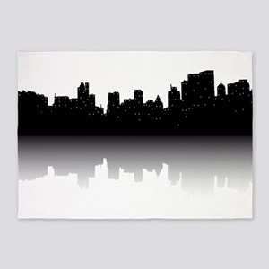 NYC Skyline 5'x7'Area Rug