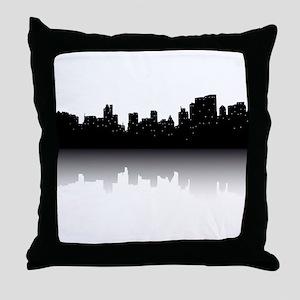 NYC Skyline Throw Pillow