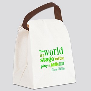 Bad Cast Canvas Lunch Bag