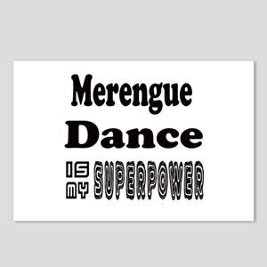 Merengue Dance Is My Supe Postcards (Package of 8)