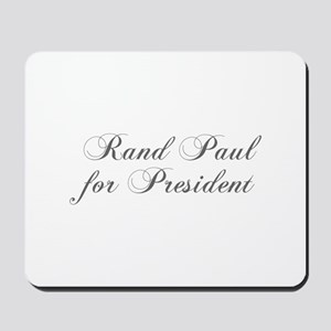 Rand Paul for President-Cho gray 5 Mousepad