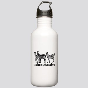 Zebra Crossing Water Bottle