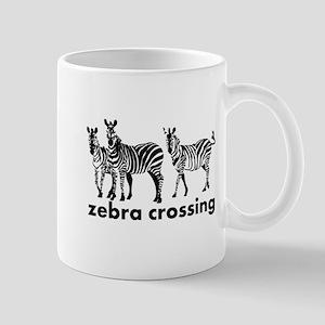 Zebra Crossing Mugs