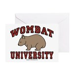 Wombat University Greeting Card