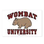 Wombat University Post Cards (Package of 8)