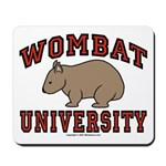 Wombat University Mousepad