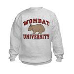 Wombat University Kids Sweatshirt