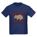 Wombat University Kids Dark Colored T-Shirt