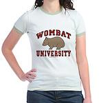Wombat University Jr. Ringer T-Shirt