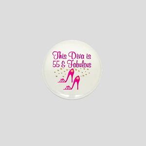 55TH PRIMA DONNA Mini Button