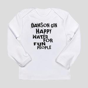 Damson Gin Happy Water Long Sleeve Infant T-Shirt