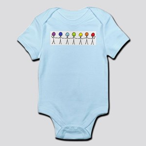 Rainbow Sticks Body Suit