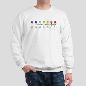 Rainbow Sticks Sweatshirt