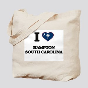 I love Hampton South Carolina Tote Bag
