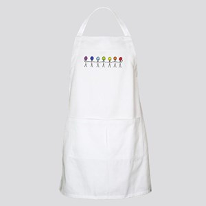 Rainbow Sticks Apron