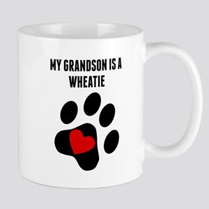My Grandson Is A Wheatie Mugs