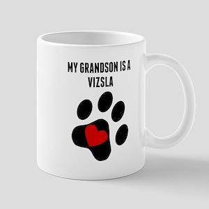 My Grandson Is A Vizsla Mugs