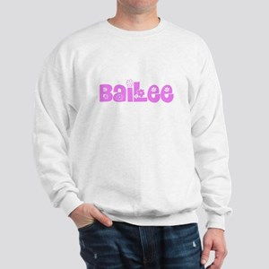 Bailee Flower Design Sweatshirt