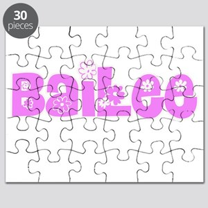 Bailee Flower Design Puzzle