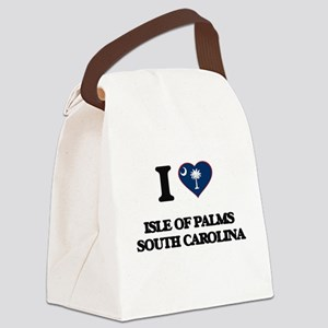 I love Isle Of Palms South Caroli Canvas Lunch Bag