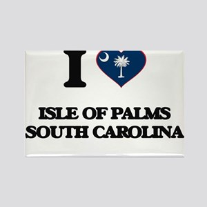 I love Isle Of Palms South Carolina Magnets