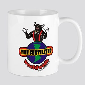 """The Fertilizer - Worldwide"" 11 oz Ceramic Mug"