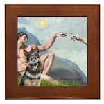 Creation / G-Shep Framed Tile