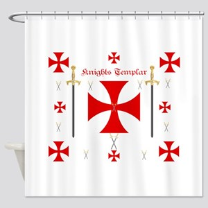 Knights Templar Shower Curtain