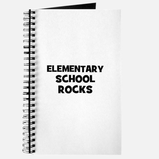 Elementary School Rocks Journal