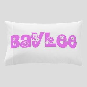 Baylee Flower Design Pillow Case