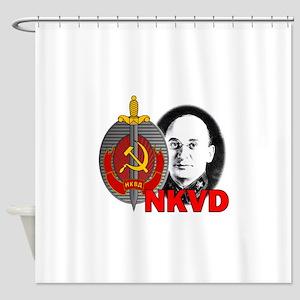 Lavrentiy Beria NKVD KGB Soviet Uss Shower Curtain