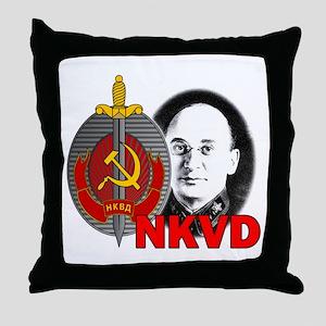 Lavrentiy Beria NKVD KGB Soviet Ussr Throw Pillow
